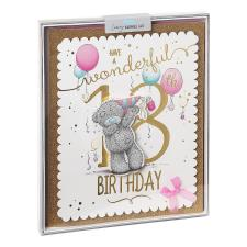 Wonderful 18th Day Me to You Bear Luxury Boxed Birthday Card