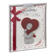 One I Love Me to You Bear Luxury Boxed Birthday Card