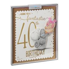 Fantastic 40th Me to You Bear Luxury Boxed Birthday Card