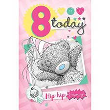 8 Today Me to You Bear Birthday Card