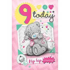 9 Today Me to You Bear Birthday Card