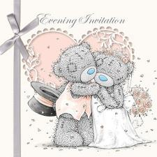 Evening Invitation Me to You Bear Cards (Pack of 6)