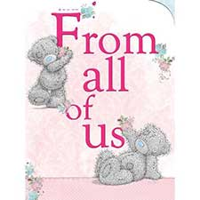 From All of Us Birthday Me to You Bear Card