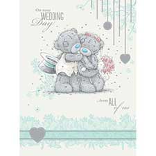 From All of Us Wedding Me to You Bear Card