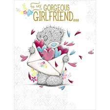 Gorgeous Girlfriend Me to You Bear Large Birthday Card