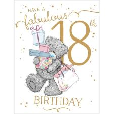 Fabulous 18th Large Me to You Bear Birthday Card