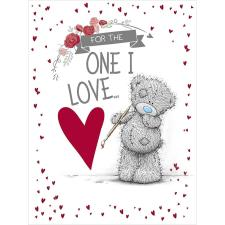 One I Love Large Me to You Bear Birthday Card