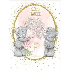 Beautiful Fiancee Large Me to You Birthday Card
