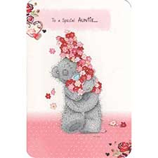 Auntie Birthday Me to You Bear Card