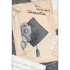 Special Son's Graduation Me to You Bear Card