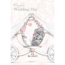Wedding Day Me to You Bear Card