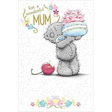 Mum Birthday Me to You Bear Luxury Card