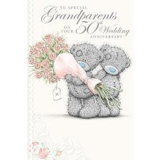 Grandparents 50th Anniversary Me to You Bear Card