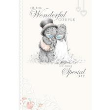Wonderful Couple Me to You Bear Wedding Card