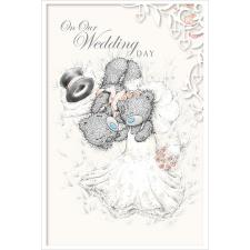 On Our Wedding Day Me to You Bear Card