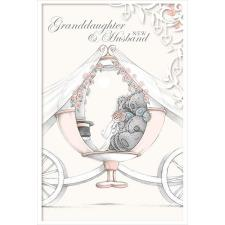 Granddaughter and New Husband Me to You Bear Wedding Day Card