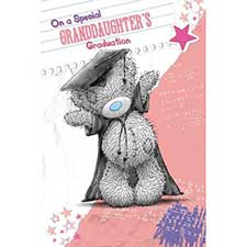 Granddaughters Graduation Me to You Bear Card