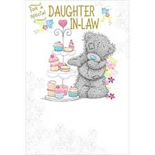 Daughter–In–Law Birthday Me to You Bear Card