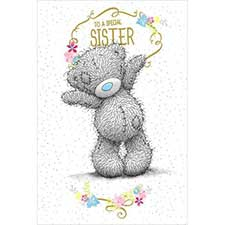 Special Sister Birthday Me to You Bear Card