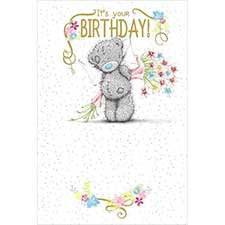 Its Your Birthday Me to You Bear Card