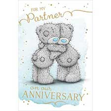 Partner on Anniversary Me to You Bear Card
