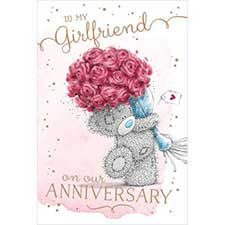 Girlfriend on Anniversary Me to You Bear Card