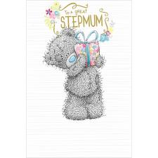 Stepmum Me to You Bear Card