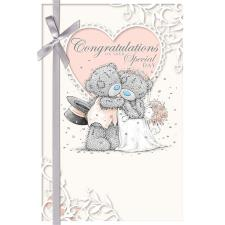 Congratulations Wedding Day Me to You Bear Card