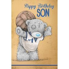 Son Happy Birthday Me to You Bear Birthday Card