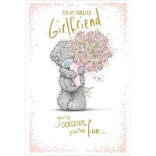 Fabulous Girlfriend Me to You Bear Birthday Card