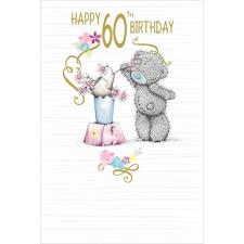Happy 60th Me to You Bear Birthday Card