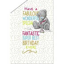 Best Birthday Ever Pop Up Me to You Bear Card