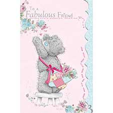 Fabulous Friend Me to You Bear Card