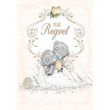 Wedding Invitation With Regret Me to You Card