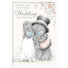 Wedding Invitation Me to You Bear Card