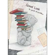 Good Luck in your A-Levels Me to You Bear Card