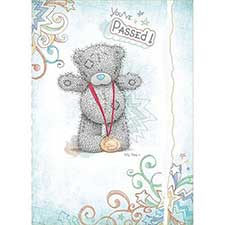 You've Passed Me to You Bear Card