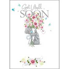 Get Well Soon Me to You Bear Card