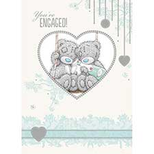 Engagement Me to You Bear Card