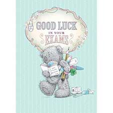 Good Luck In Your Exams Me to You Bear Card