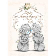 Happy Anniversary to a Special Couple Me to You Bear Card