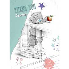 Thank You Teacher Me to You Bear Card