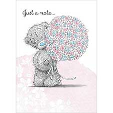 Just a Note Me to You Bear Card