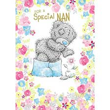 Special Nan Me to You Bear Birthday Card