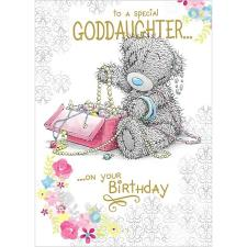 Goddaughter Birthday Me to You Bear Card