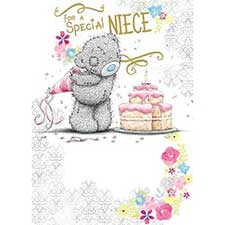 Special Niece Birthday Me to You Bear Card