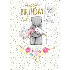 Happy Birthday Surprise Me to You Bear Card