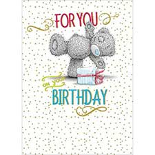 For You On Your Birthday Me to You Bear Card