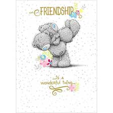 Friendship Me to You Bear Card