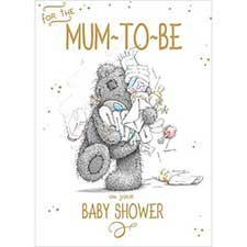 Mum-To-Be Baby Shower Me to You Bear Card